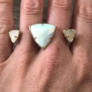 Kendra Scott Triangle Double Ring